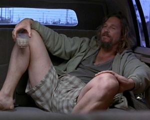 """I can't be worried about that shit. Life goes on, man."" -The Dude"