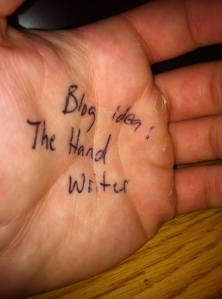 My initial idea to do this feature. Yes, I know, I have gross hands