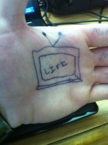 Life is like television
